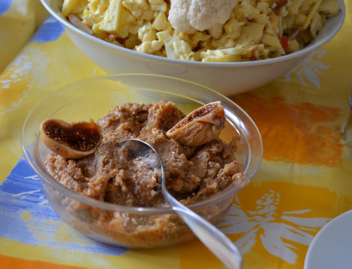Feigenaufstrich - vollwertiger süßer Brotaufstrich