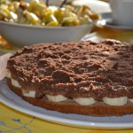 (Vegane) vollwertige Schoko-Bananen-Torte
