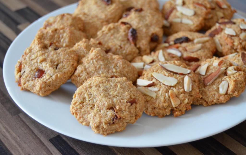 Vollwertige Hafer-Dinkel-Kekse
