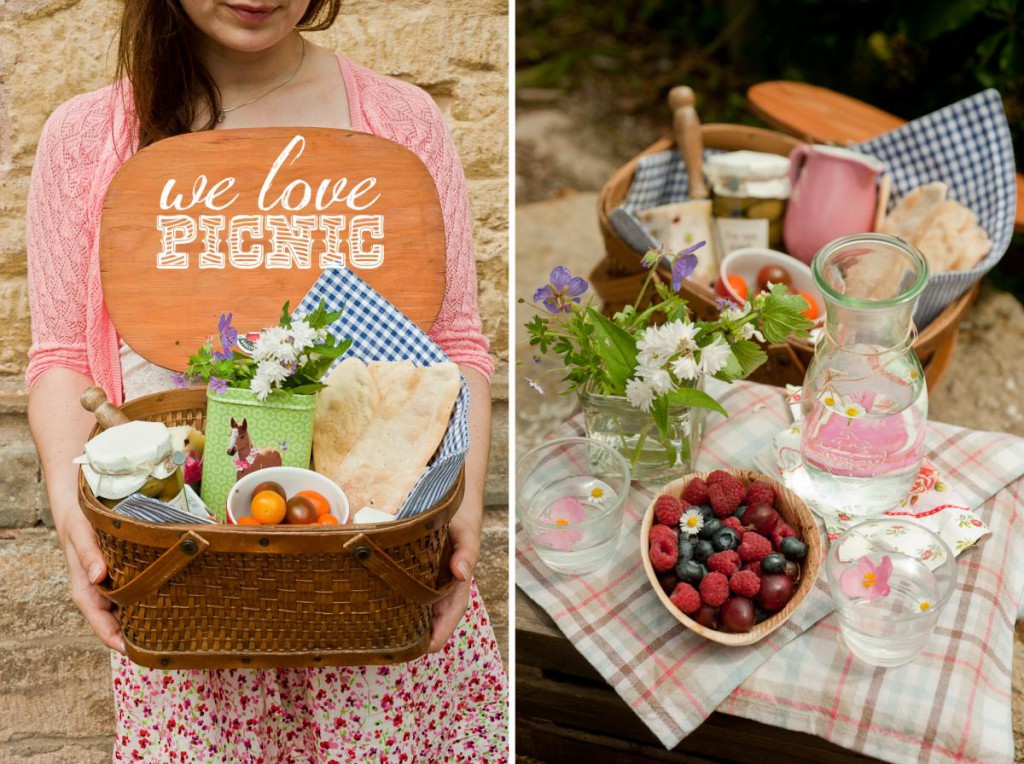 Cute Summer Picnic