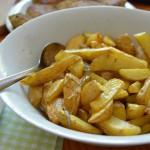 Kartoffelspalten aus dem Backofen
