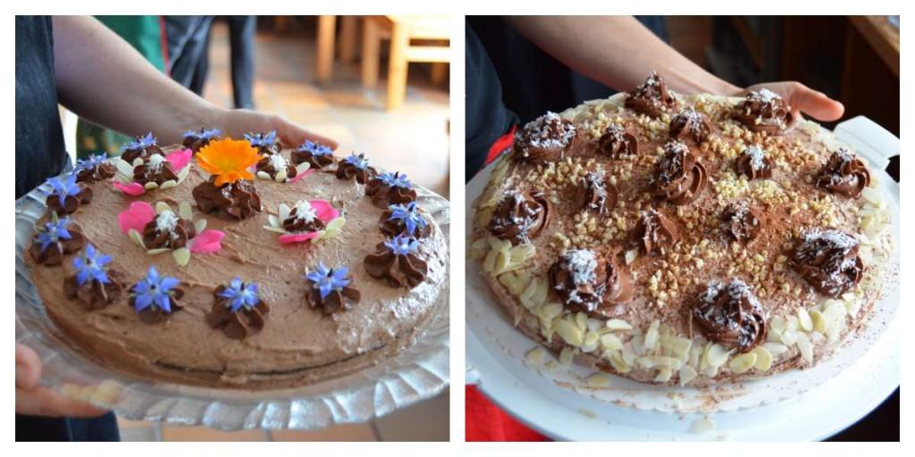 Vollwertige Torte