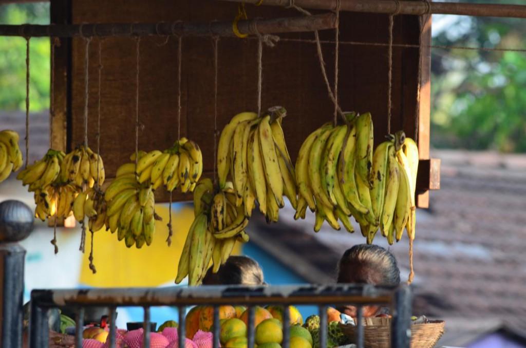 Bananenauswahl