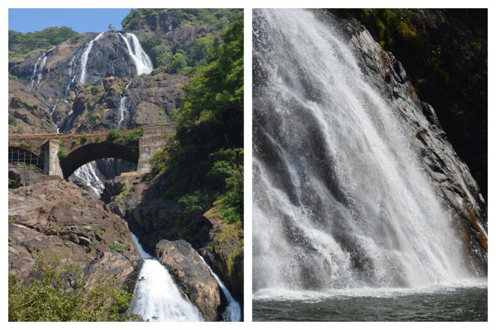 Dudhsagar Wasserfälle