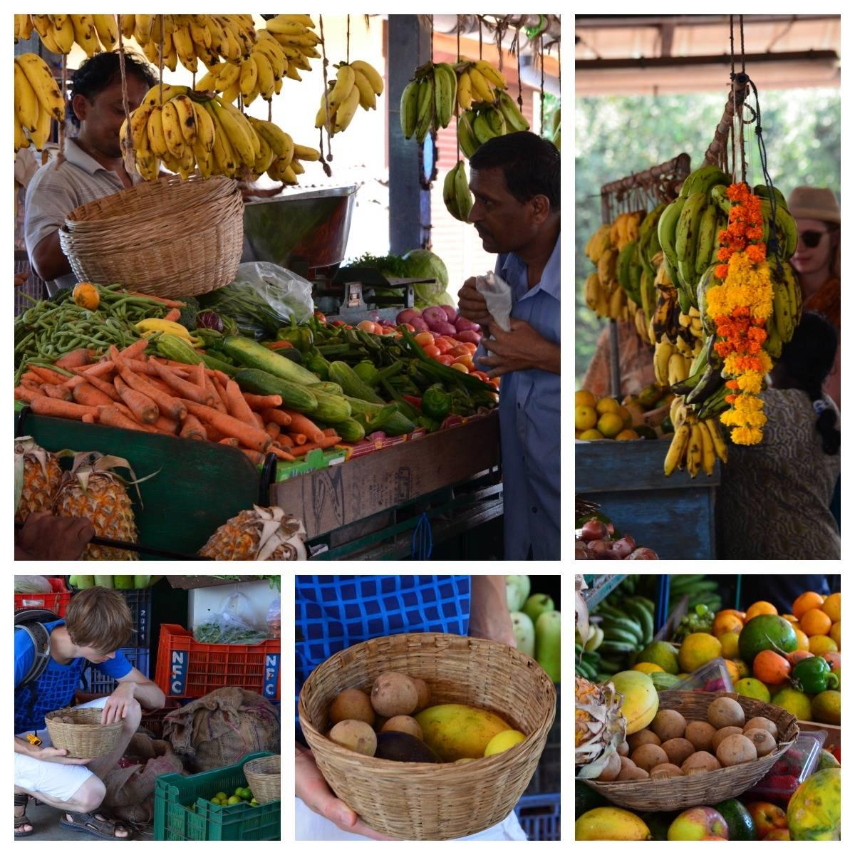 Markt in Candolim