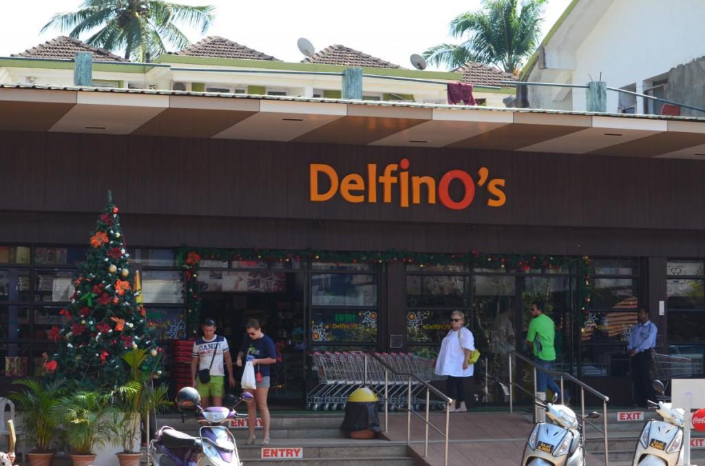 Supermarkt in Candolim