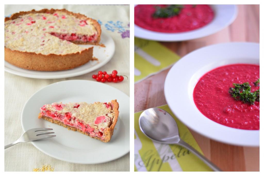 Johannisbeerkuchen & Rote Beete Suppe