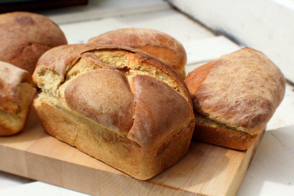 Auszugsmehls Brote