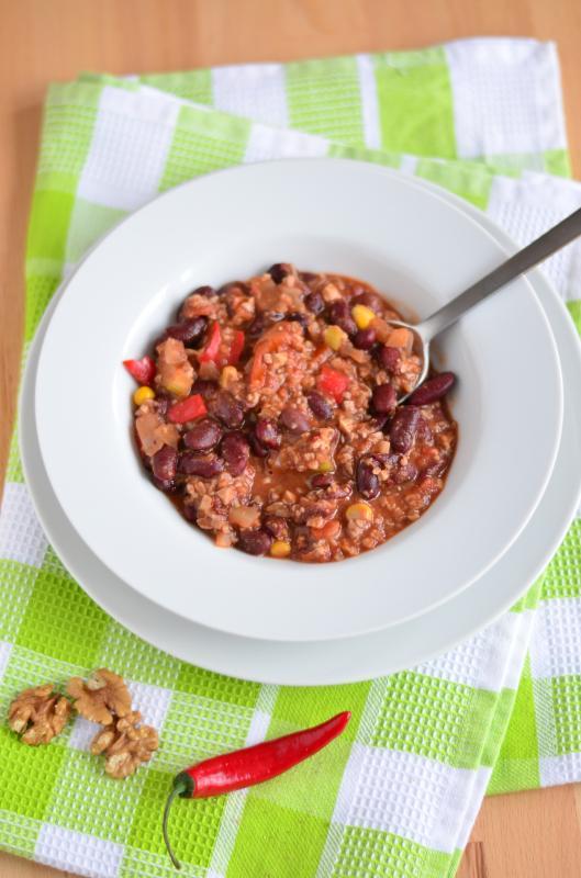 Vegetarisches Chili Sin Carne Als Partyessen Vollwert Blog
