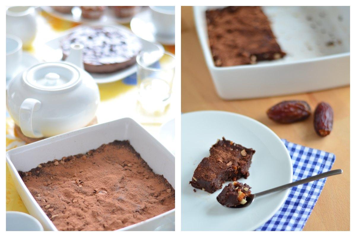 Rohkost Brownies