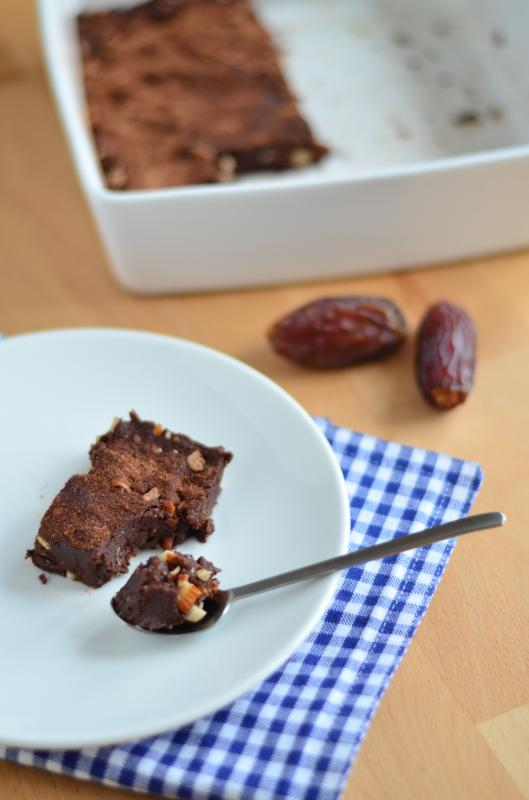 vollwertige Rohkost Brownies