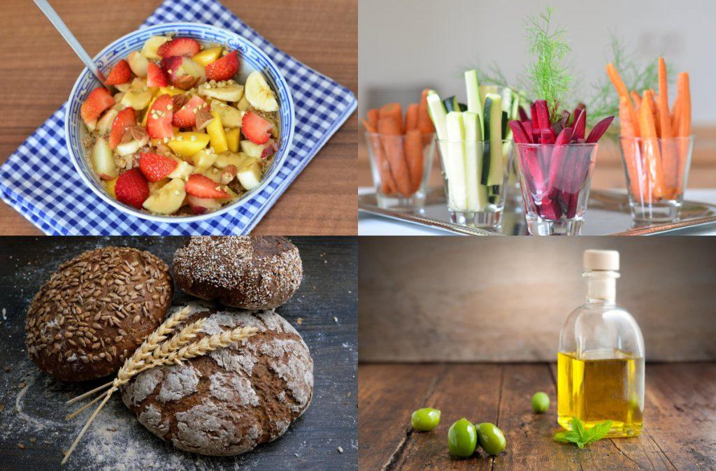 4 Dinge essen - vitalstoffreiche Vollwertkost Ernährungsempfehlungen
