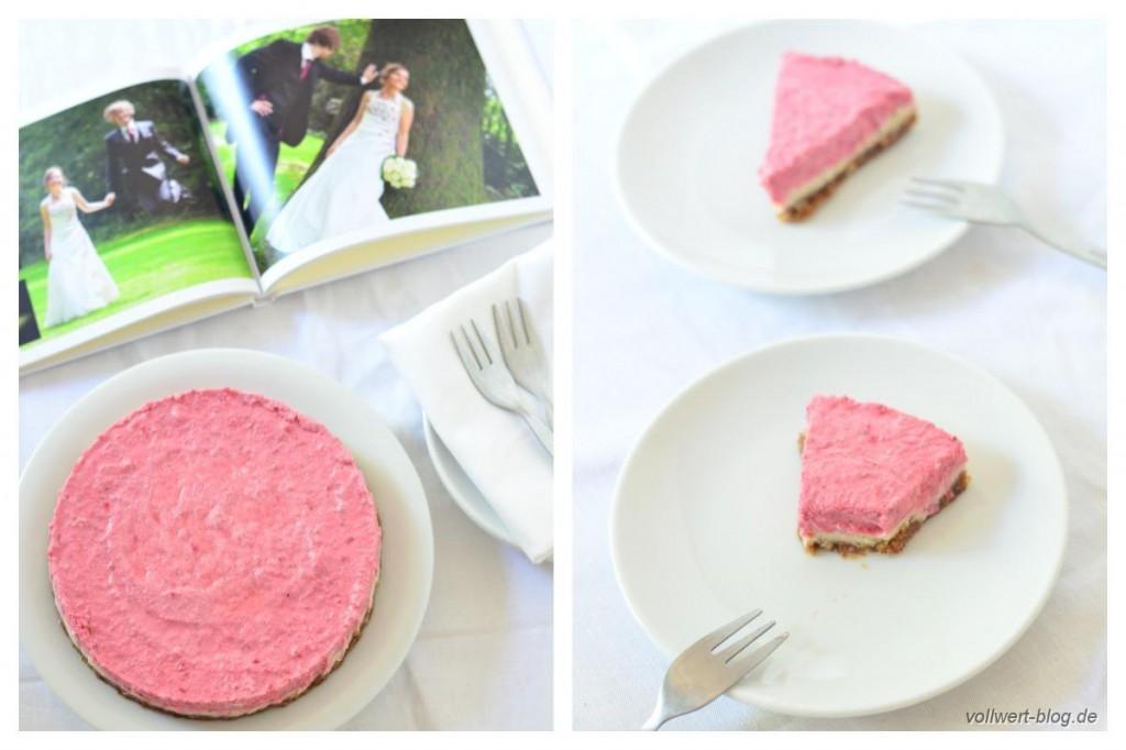 Rohköstliche Erdbeer-Torte