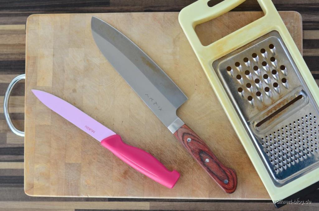 Unsere Werkzeuge zur Salatzubereitung
