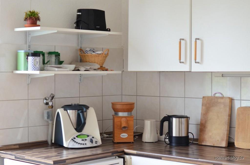 Ein Blick in unsere Küche