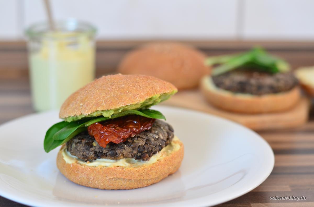 vegetarische Vollwert Burger