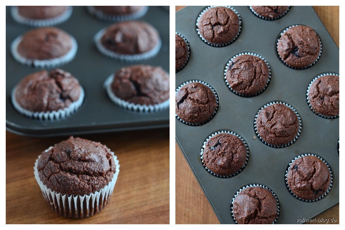 vegane schoko muffins mit fr chten vollwert blog. Black Bedroom Furniture Sets. Home Design Ideas