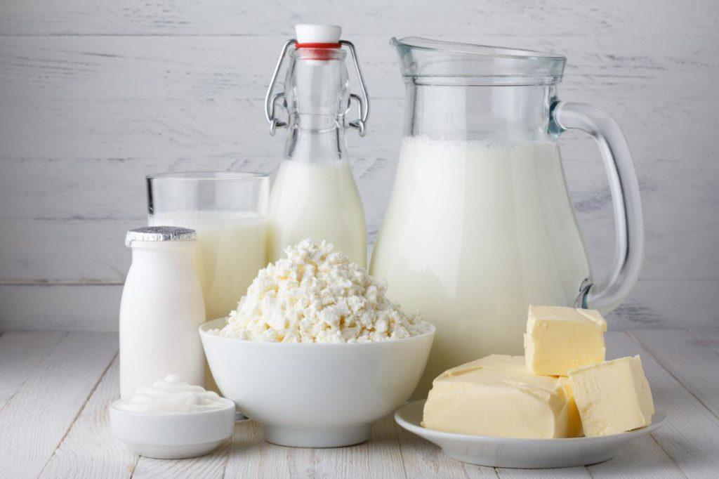 Milchprodukte: tiereiweißarm und tiereiweißreich