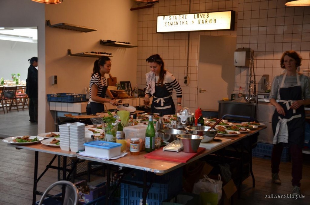 Offene Küche Pistache Studios
