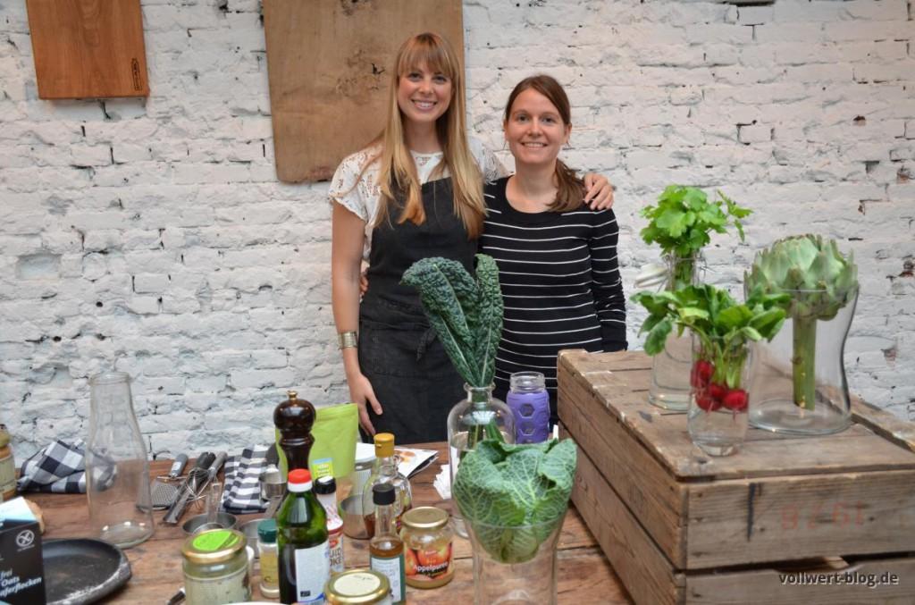 Sarah B & Melanie beim Kochkurs in Amsterdam