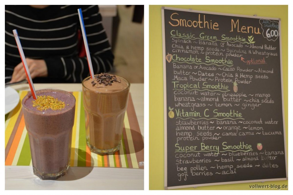 Smoothies im Unlimited Health