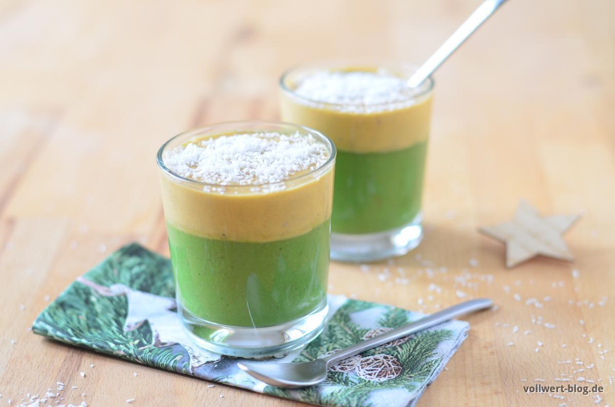 unser gr nes weihnachts smoothie dessert vitalstoff kick