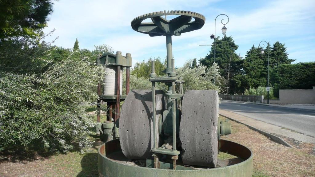 Alte Olivenölmühle in Mouriès (Südfrankreich)