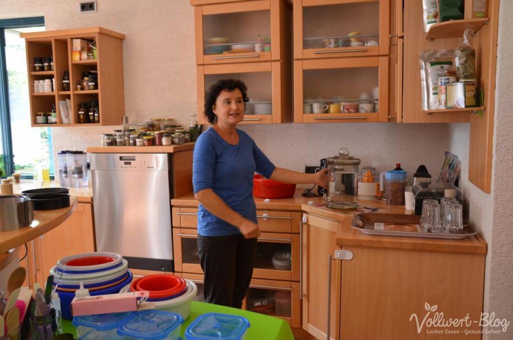 """Gisela in """"ihrer"""" Küche"""