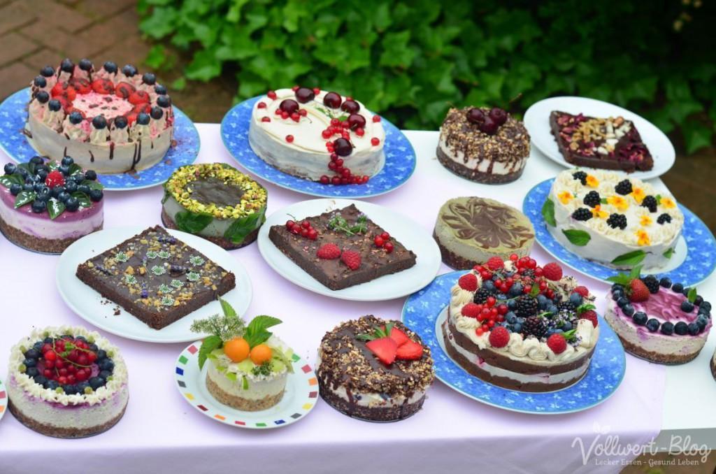 Ein Teil unserer Kuchen- und Torten-Tafel