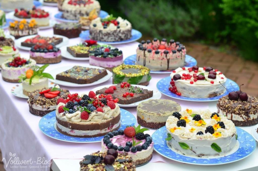 Rohkost Torten- und Kuchenbuffet