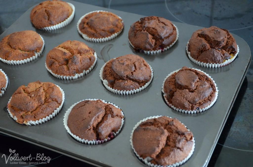 vegane Zwetschgen-Muffins