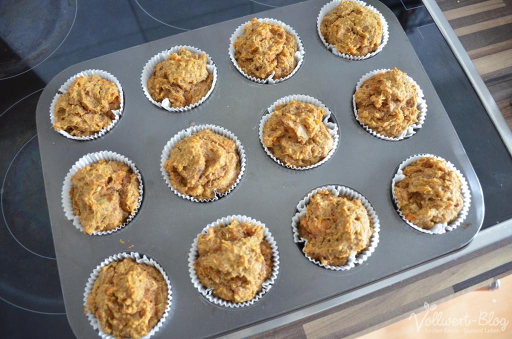 Süßkartoffel-Quinoa-Muffins