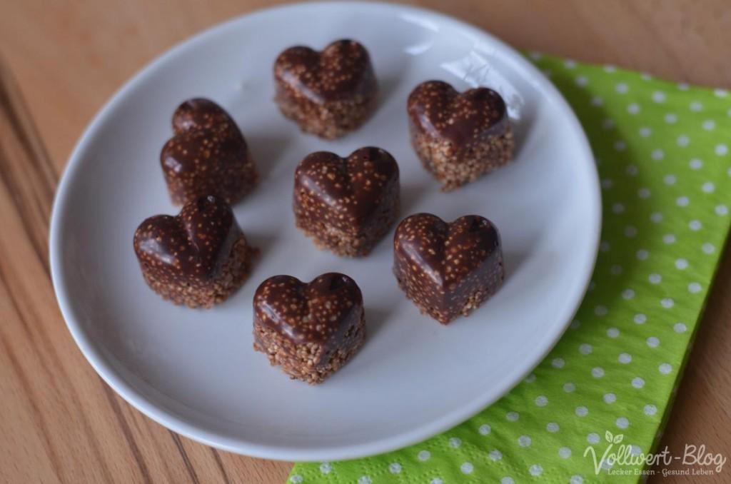 Amaranth-Schokolade