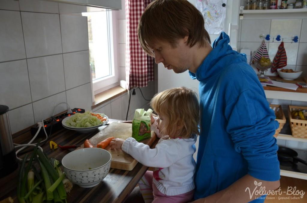 Mittagessen zubereiten