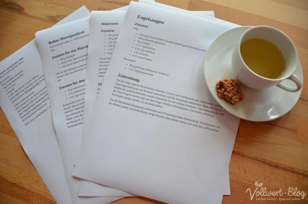 Rezepterecherche & Amaranth-Snack