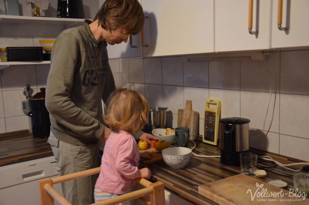 Frühstücksvorbereitungen