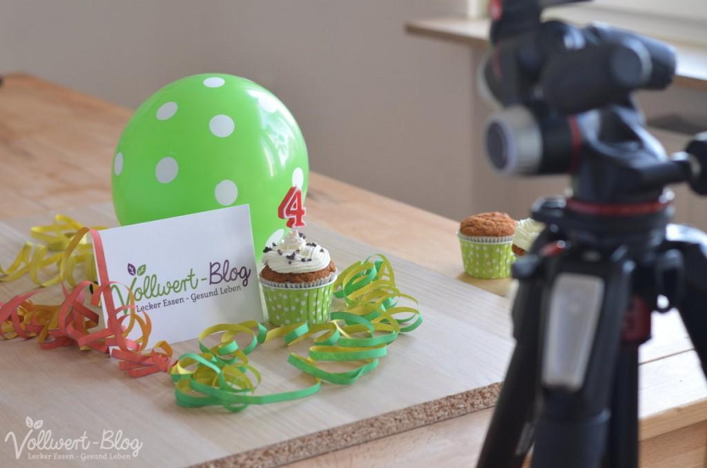Blog-Geburtstagsvorbereitungen