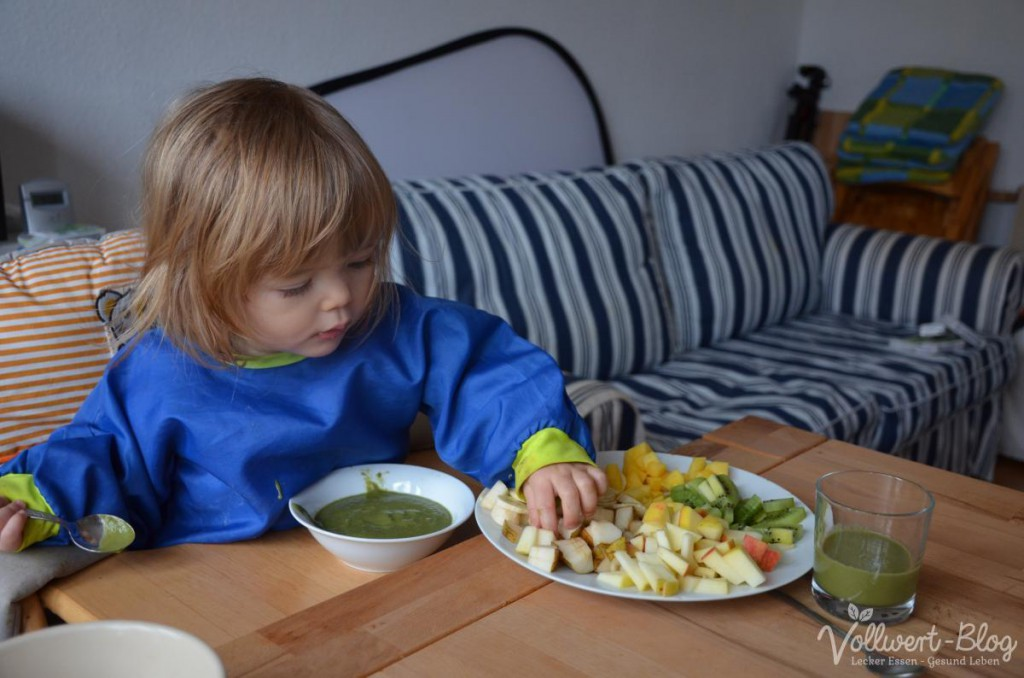Frühstück - grüne Smoothie Bowl