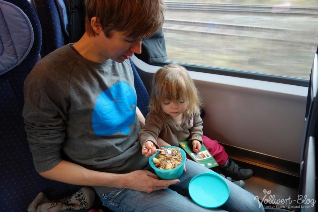 Frühstück im Zug