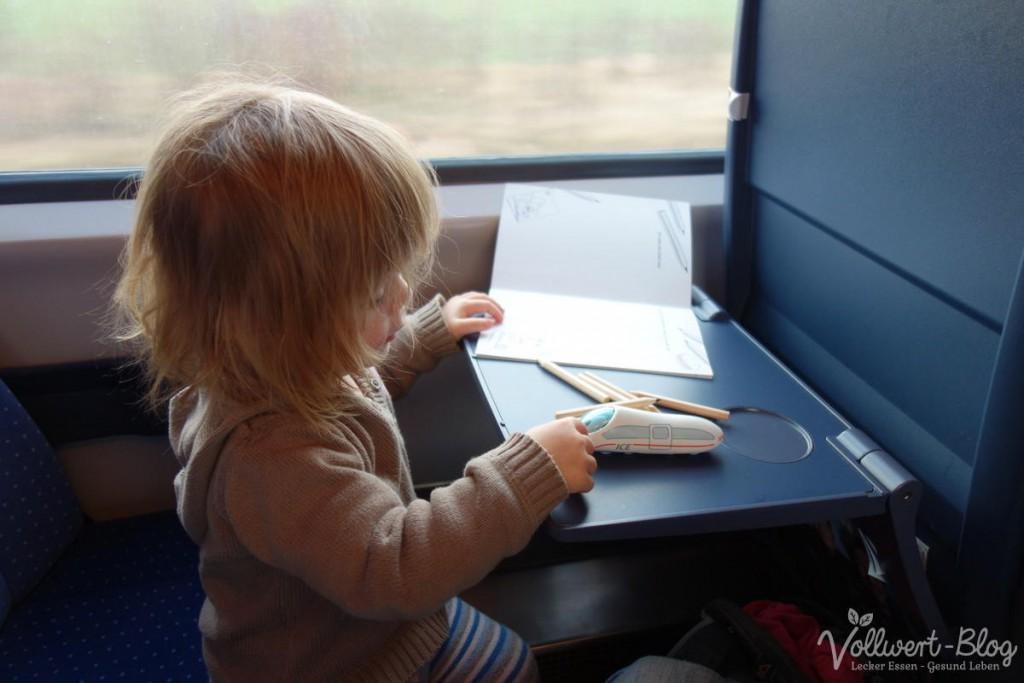 Spielen im Zug