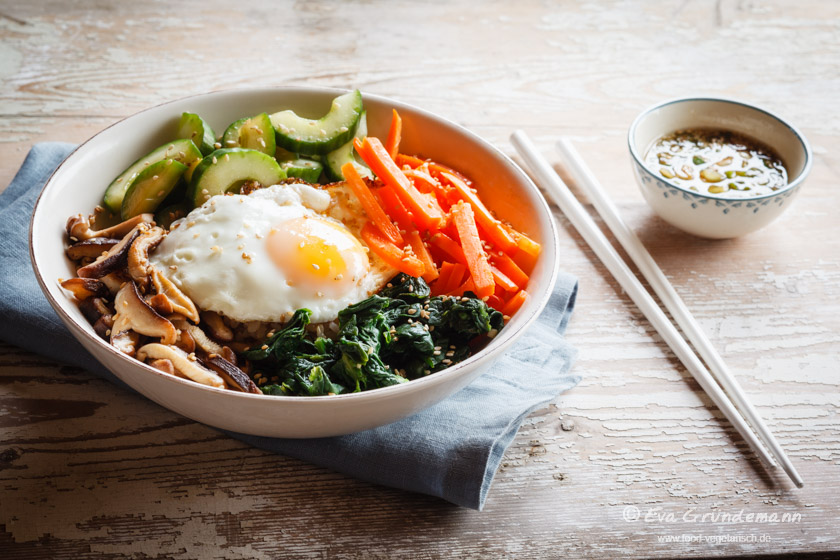 Korean-Bibimbap