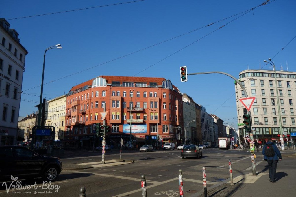 Blauer Himmel in Berlin