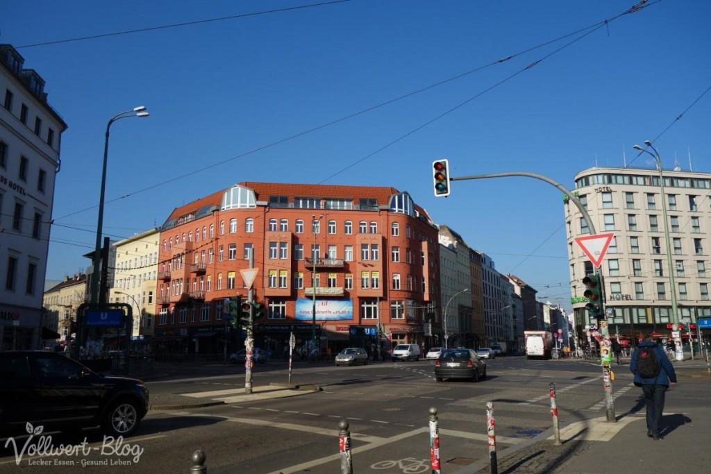 Blauer Himmel in Berlin