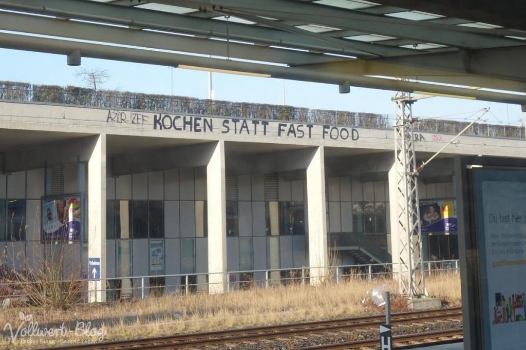 Kochen statt Fast Food