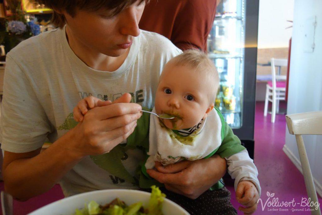Grüner Smoothie fürs Baby