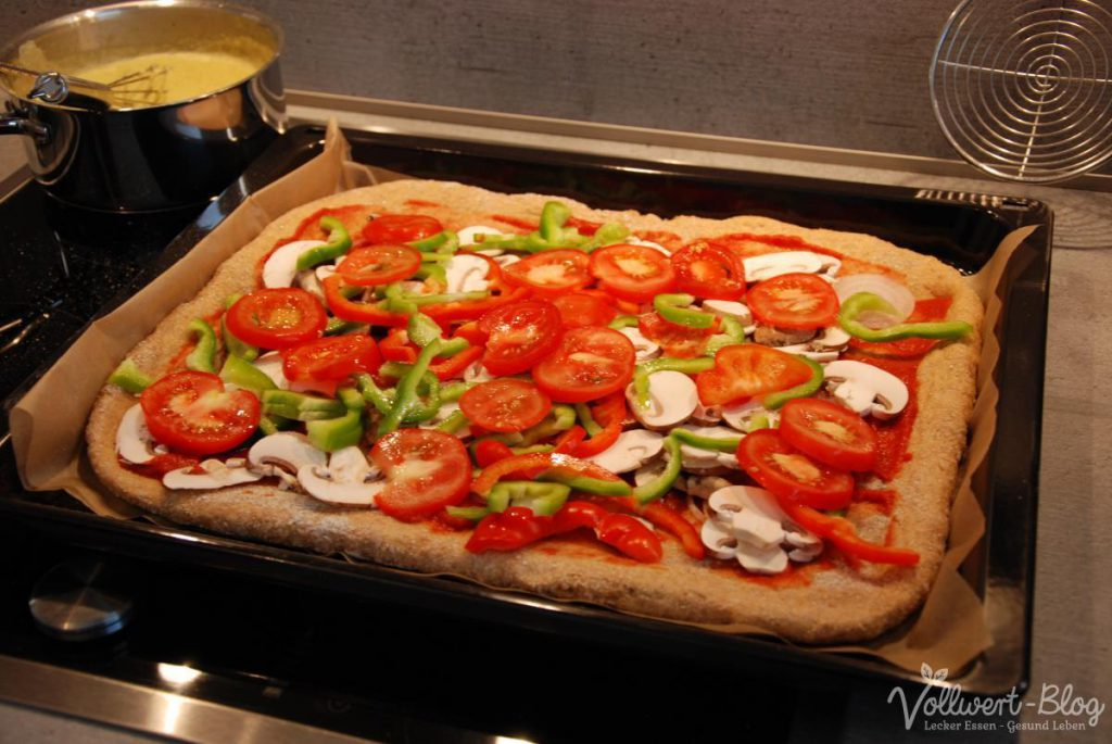 Vollkorn-Pizza