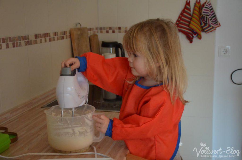 Bei der Eiszubereitung