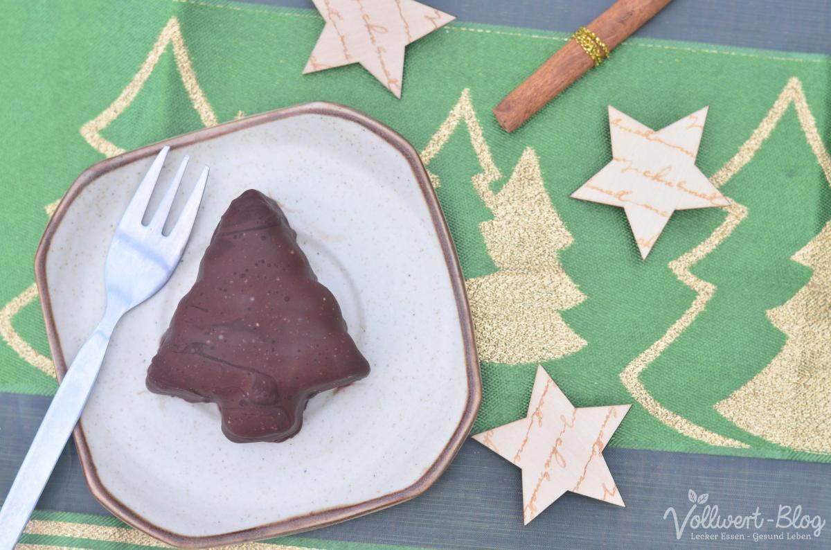 Weihnachtliches Tannenbaumeis in vollwertig