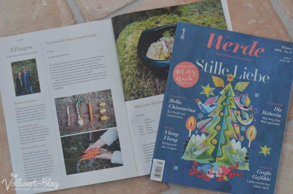 Werde Magazin Cover