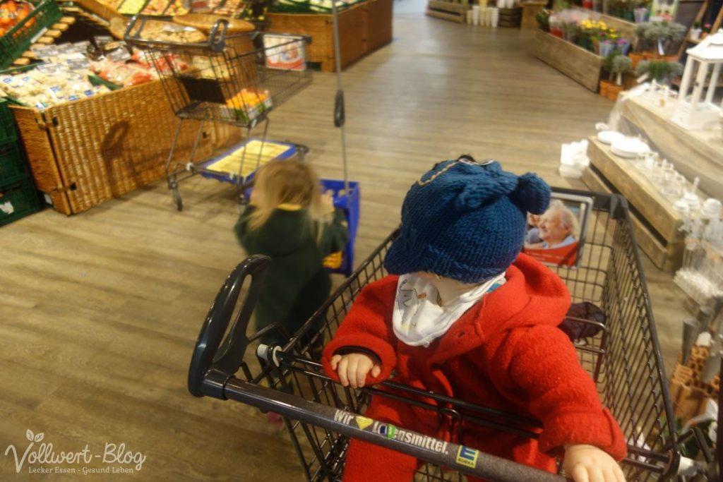 beim Einkauf
